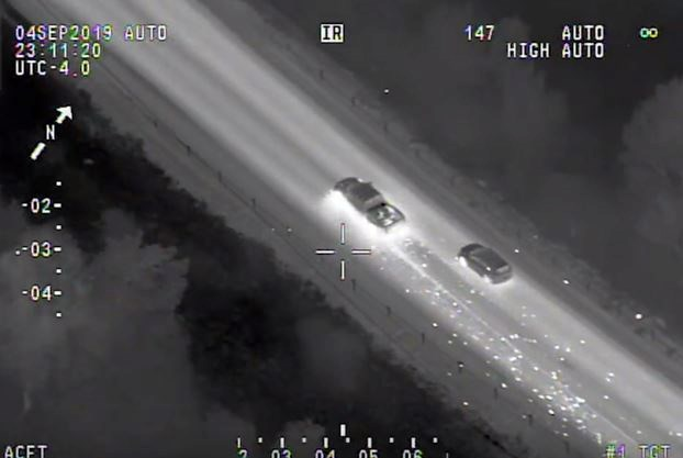 VIDEO: Kawartha Lakes man arrested after police helicopter