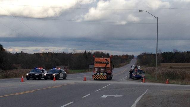 Highway 9 closed for fatal crash east of Tottenham Road | Simcoe com