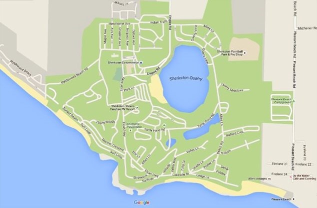 Sherkston Shores Map Fire damages Sherkston Shores Resort cottages | NiagaraFallsReview.ca