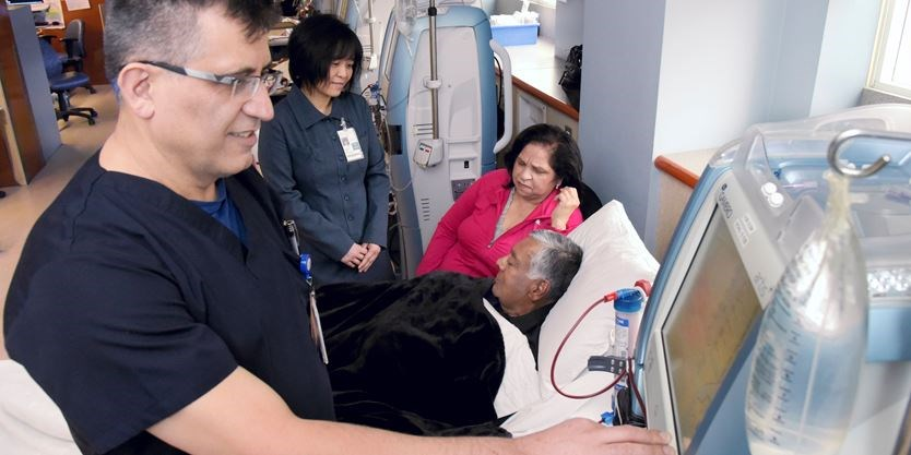 Dialysis program at Scarborough and Rouge Hospital is