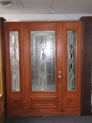 Add Elegant Style To Exterior Doors With Decorative Glass Inserts
