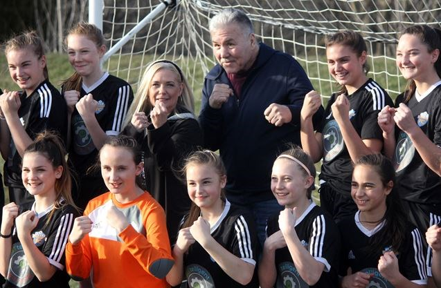 Ring king meets and greets rockwood soccer team in guelph boxing m4hsunfo