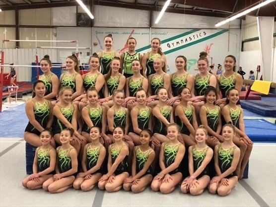a13a61b43 Thirty-two gymnasts from the Burlington Gymnastics Club qualified for the  provincial championships in Windsor April 5-8. - Burlington Gymnastics Club