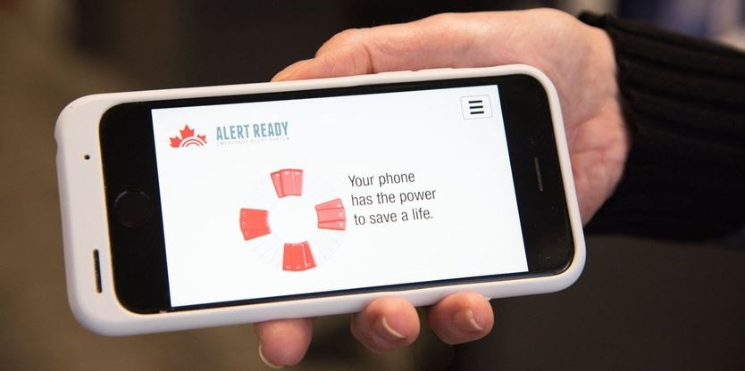 It's only a test: Cellphones will sound off when emergency alert system