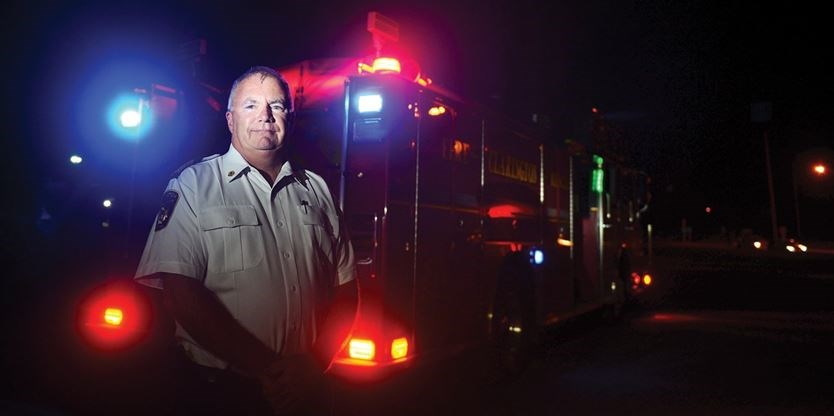 Clarington Fire Chief Gord Weir Championed A Push To Change The Highway  Traffic Act To Allow All Emergency Response Vehicles To Use Flashing Blue  Lights At ...