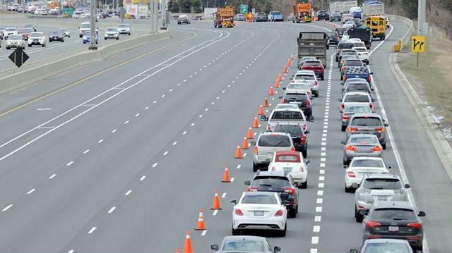 Woman, 91, dies in Hwy  404 northbound crash near Steeles