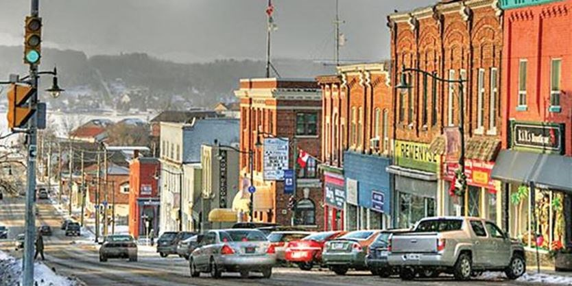 penetanguishene main street reconstruction project to commence in