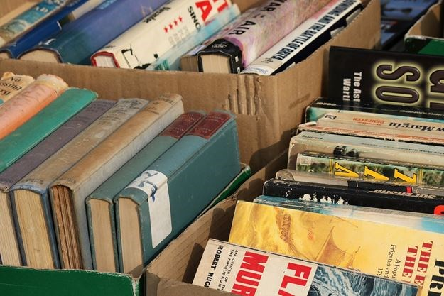 used book donation near me