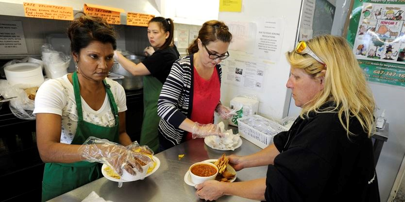 Strange Volunteer Group Serving Meals In East Scarborough Outgrows Interior Design Ideas Clesiryabchikinfo