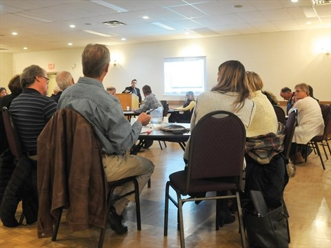 COBOURG -- Residents interested in the possible merger of the Cobourg Community Centre and Cobourg YMCA gathered for a public discussion at the Columbus ...