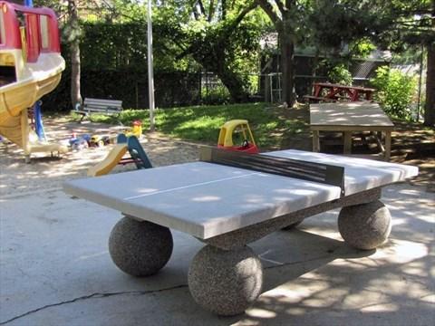 Merveilleux Ritchie Parkette Now Boasts Concrete Ping Pong Table