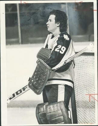 outlet store dca49 53993 Opinion | Diminutive Maple Leafs goalie Mike Palmateer gave ...
