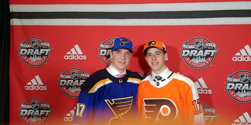 Aurora Connections All Over Nhl Draft Weekend In Chicago