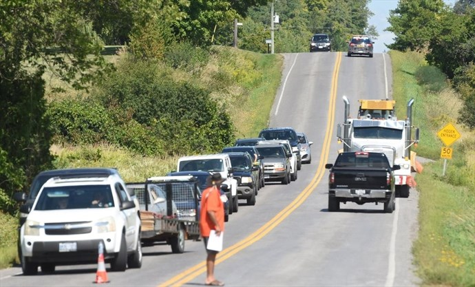 Construction of Hiawatha First Nation gas station blocked