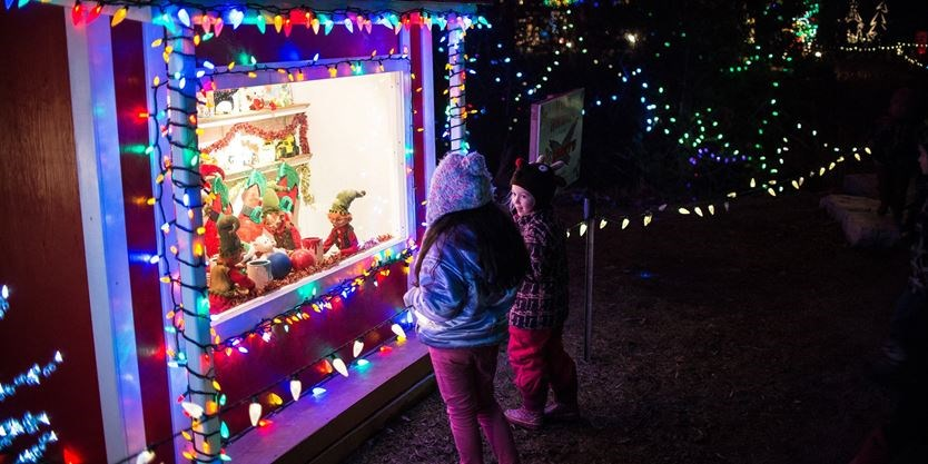 the optimist club of orangeville has turned on the lights for its 25th annual christmas in the park at kaycee gardens the park will be open nightly from - When Does Christmas In The Park Open