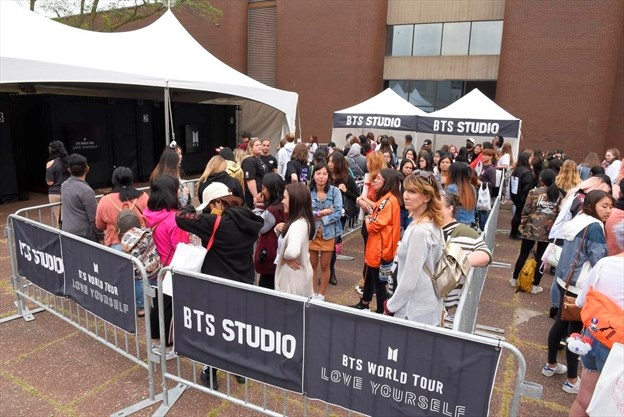 Behind the scenes with BTS in Hamilton | TheSpec com