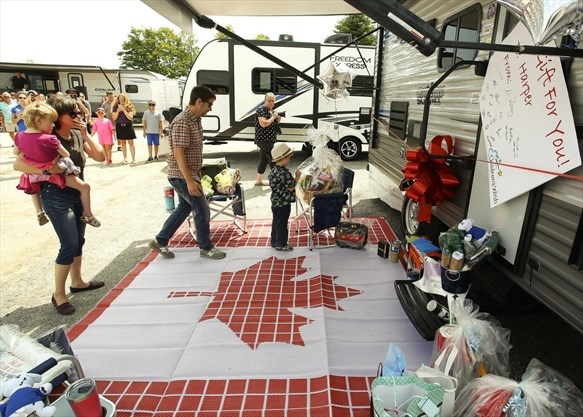 Great Canadian Rv >> Little Girl S Travel Wish Comes True As Peterborough
