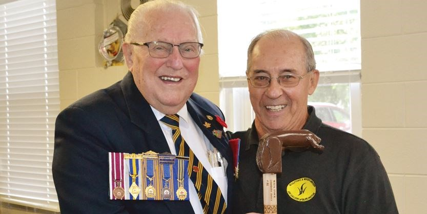 Innisfil veterans given unique canes as gesture of thanks
