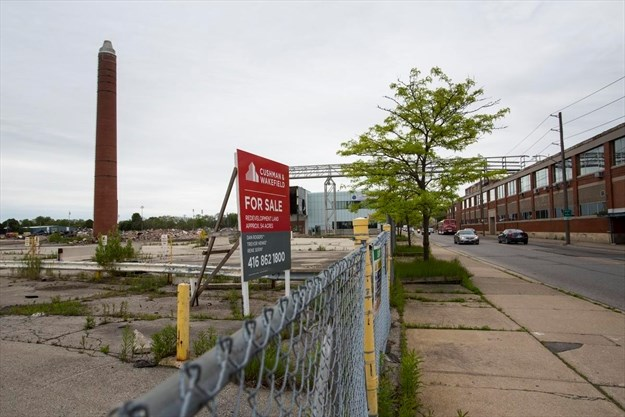 Former St  Catharines GM property cleared for sale to