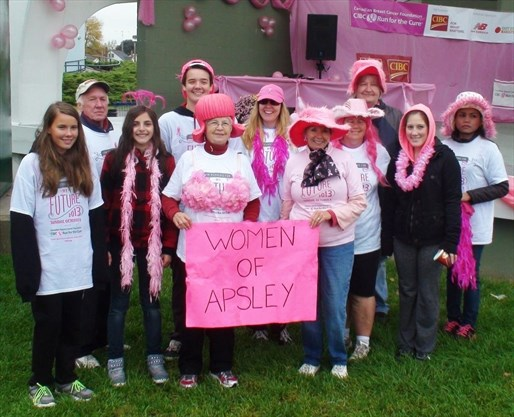 Breast canadian cancer cure foundation run