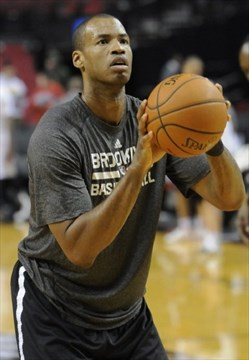 919b19ca198 After coming out, Jason Collins is in bright spotlight as face of the Nets