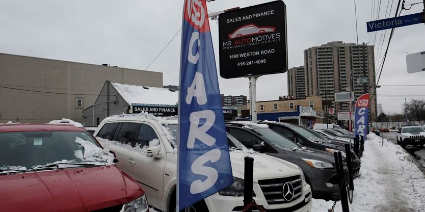 Toronto Car Sales >> Residents On A Weston Street Have Parking Issues With Car