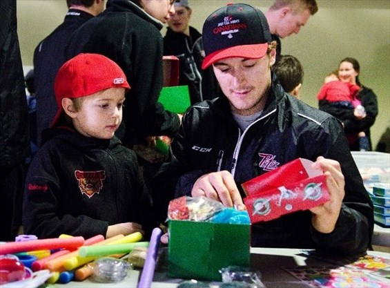 Petes Christmas.Petes Pack Gifts For Underprivileged Children As Part Of