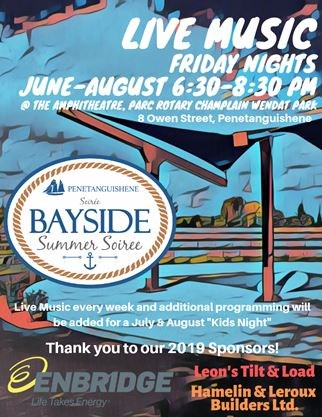 Bayside Summer Soiree @ Parc Rotary Champlain Wendat Park