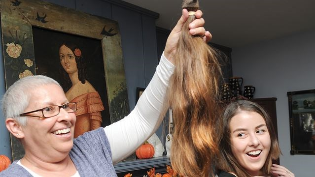 Port Hope Woman Inspires Wig Donation To Angel Hair For Kids