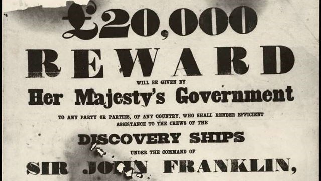 canada wanted 20 000 bounty for franklin expedition ships posted by