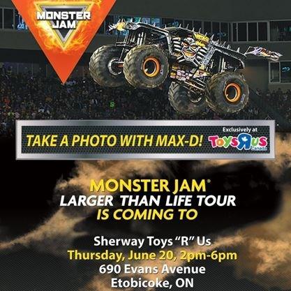 Monster Jam Poster   Super Portrait - Toys R Us Sherway Gardens Hours