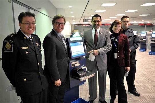 Self-serve customs machines at airport | BramptonGuardian.com