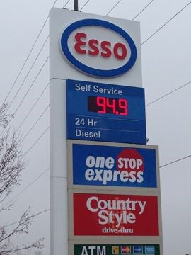 Image result for price of gas in brampton