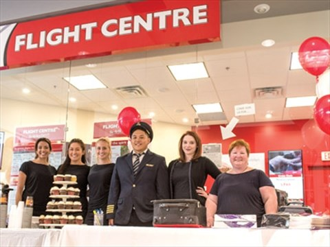 Flight Centre opens in the Georgetown Market Place   TheIFP ca