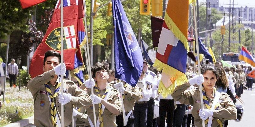 Армянская община Торонто отметила День первой республики Армения