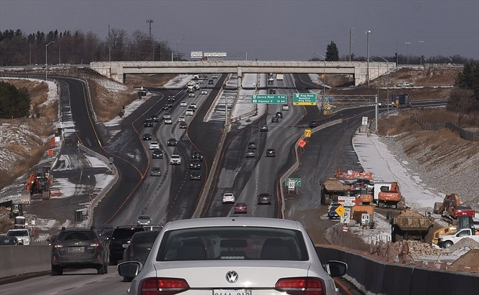 What's Going On Here?: Hwy  400 construction in King