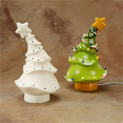 Paint Your Own Ceramic Christmas Tree Christmas In July On July 19