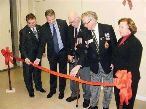 'Founding father' of Juno Beach Centre opens association office