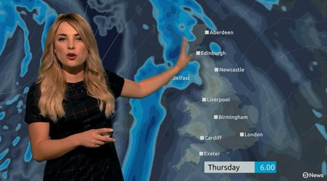 Weather forecaster fits 12 Star Wars puns in 40 seconds