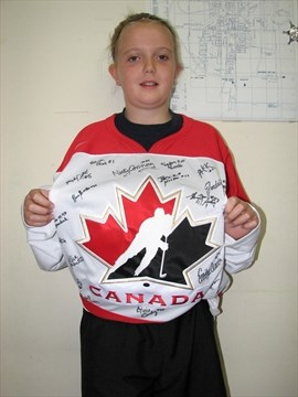 Hockey dreams come true for CP junior skater