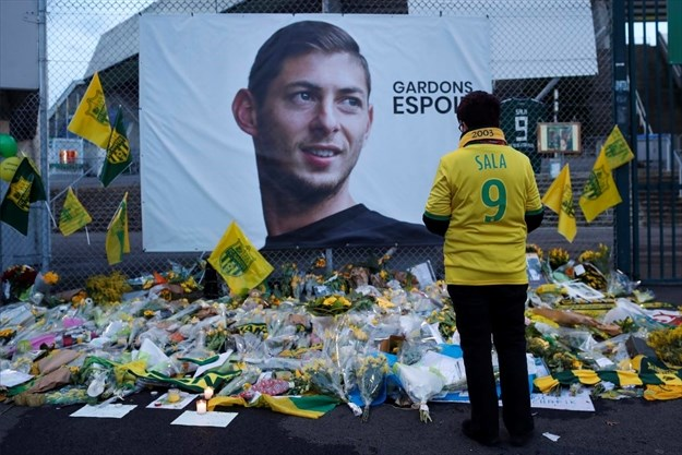 Soccer star Sala exposed to carbon monoxide before plane