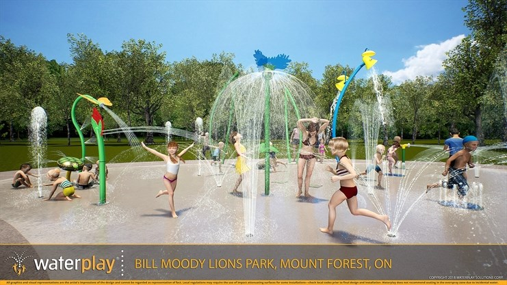 Mount Forest splash pad committee targets early summer 2019 for