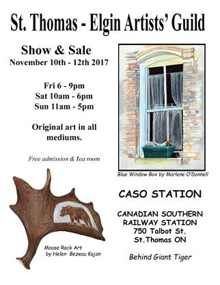 St ThomsElgin Artists Guild 11th Annual Show and Sale on November