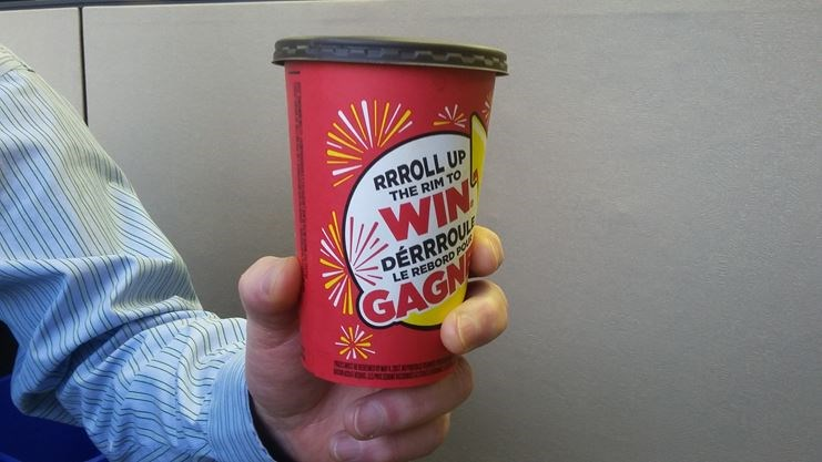 Unclaimed roll up the rim prizes to win