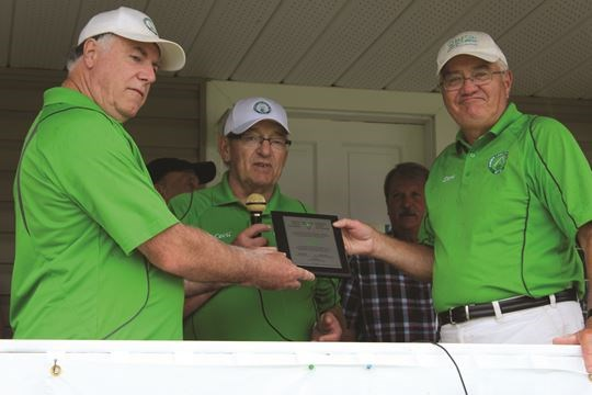 Trillium Grant Celebrated At Almonte Lawn Bowling Club