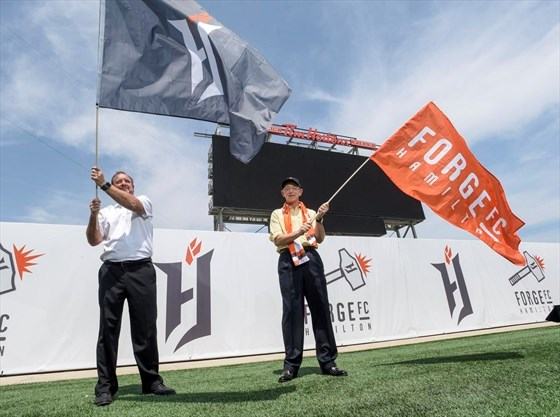 Forge FC's name a nod to city's past and future | TheSpec com