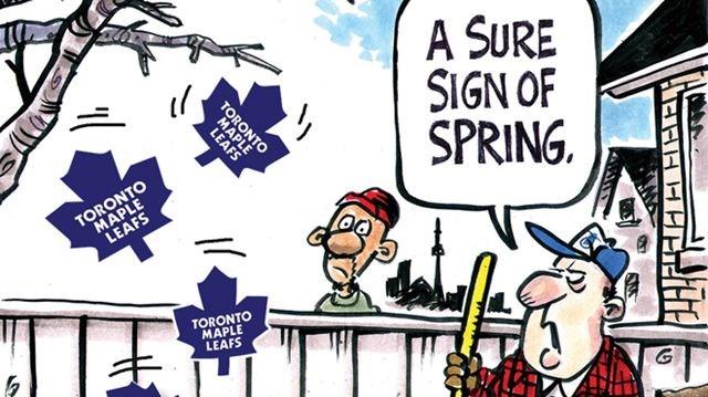 Opinion Today S Cartoon Falling Leafs Northumberlandnews Com