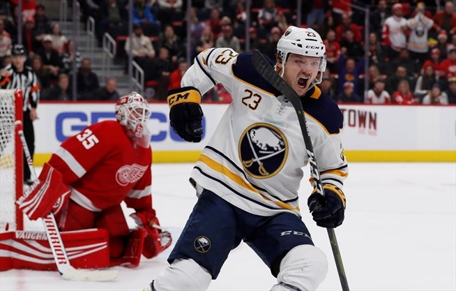 Buffalo Sabres Beat Detroit Red Wings For Ninth Straight Win