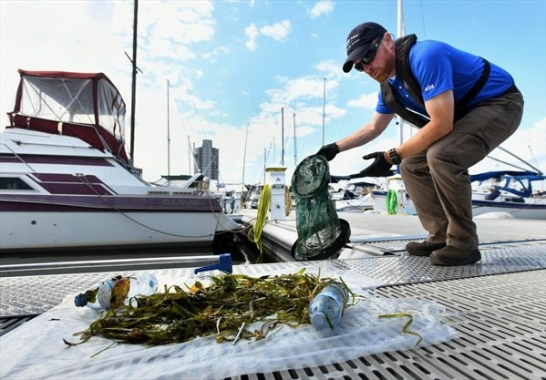 Fishing for garbage in Hamilton Harbour   TheSpec com
