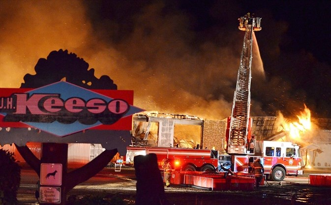 3  Keeso family weighing future options in wake of sawmill fire